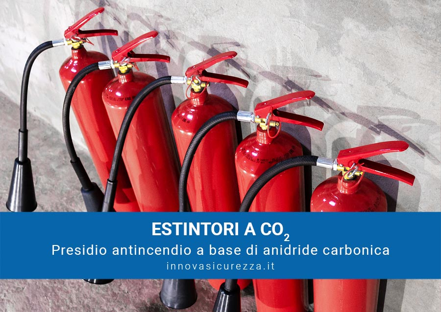 estintore CO2